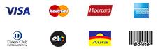 Ícones de pagamento